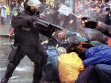 WTO Police Brutality, Seattle 1999