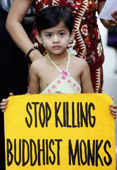Stop Killing Buddhist Monks