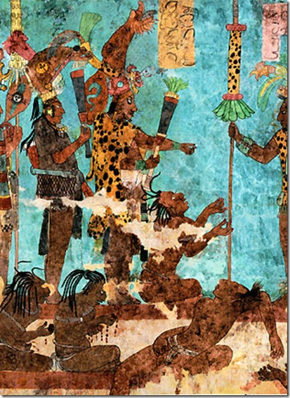 Culture can 39 t see the forest for Bonampak mural painting