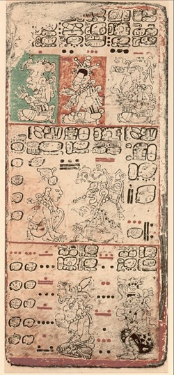 Dresden Codex, p. 9