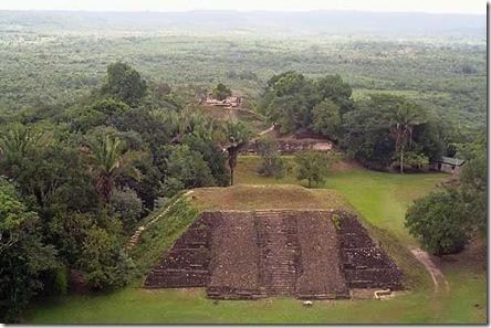 Maya - ruins at Xunan