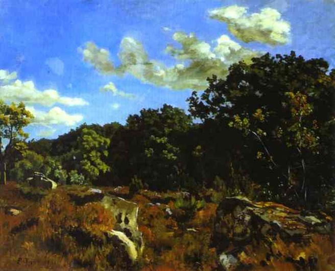 Bazille - Paysage à Chailly