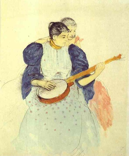 Cassatt - The Banjo Lesson