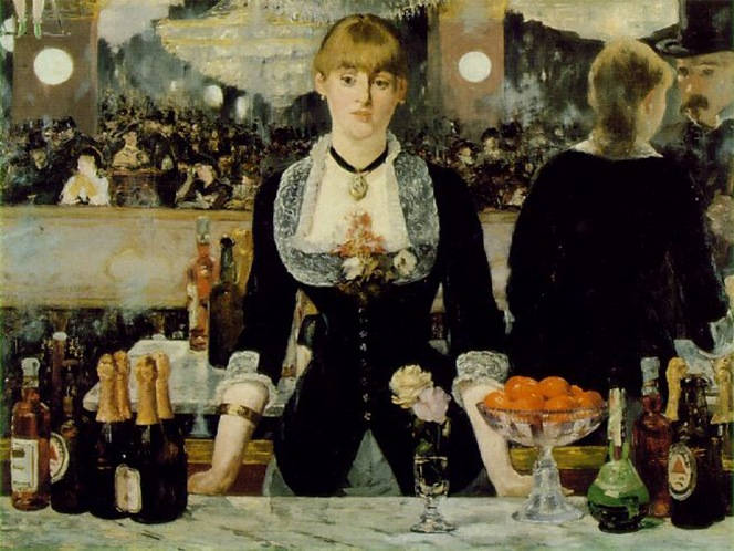 Manet - Bar at the Folies-Bergères