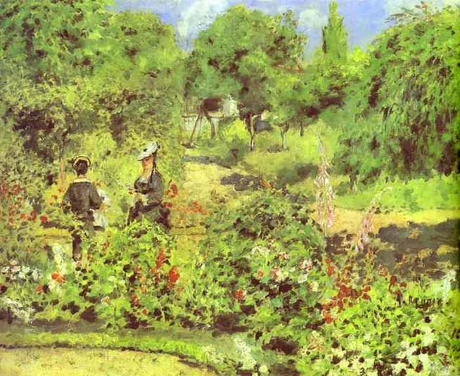 Renoir - Garden at Fontenay